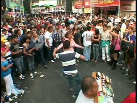 SONIDO LA CHANGA VS SONIDERO NACIONAL & REPORTE ILEGAL CUMBIA REBELDE BARRIO EN VIVO MEX DF
