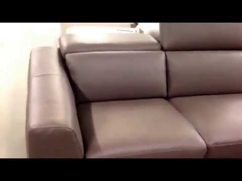 Natuzzi Editions Artisan Corner Sofa Vs Natuzzi Italia Volo. Sofa Factory  Outlet Sale.   YouTube