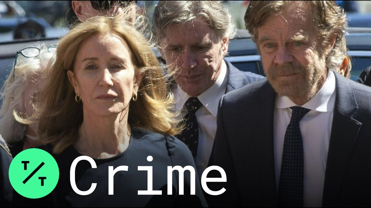 Felicity Huffman's 14 day prison sentence in college admissions scam sparks outrage on social media