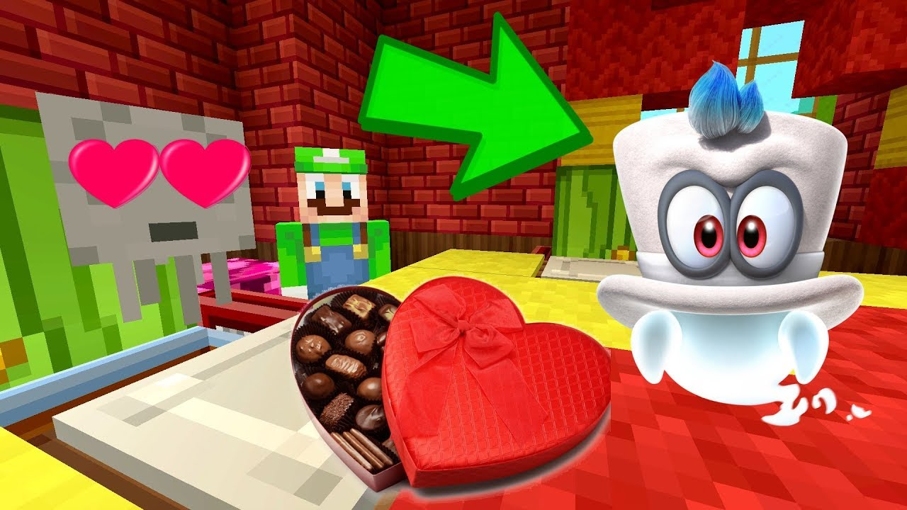 Blimpey S Date With Cappy S Sister Gone Wrong Luigi S Fun