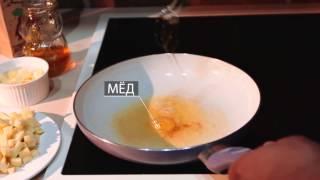 Утиная грудка под брусничным соусом