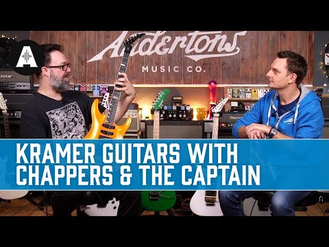 Super Hot Shred Machines! - Kramer Guitars With Chappers & The Captain