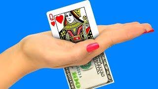 15 фокусов и трюков с картами