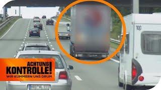 LKW-Fahren trotz Sonntagsfahrverbot! Wie hoch fällt die Strafe aus? | Achtung Kontrolle | kabel eins