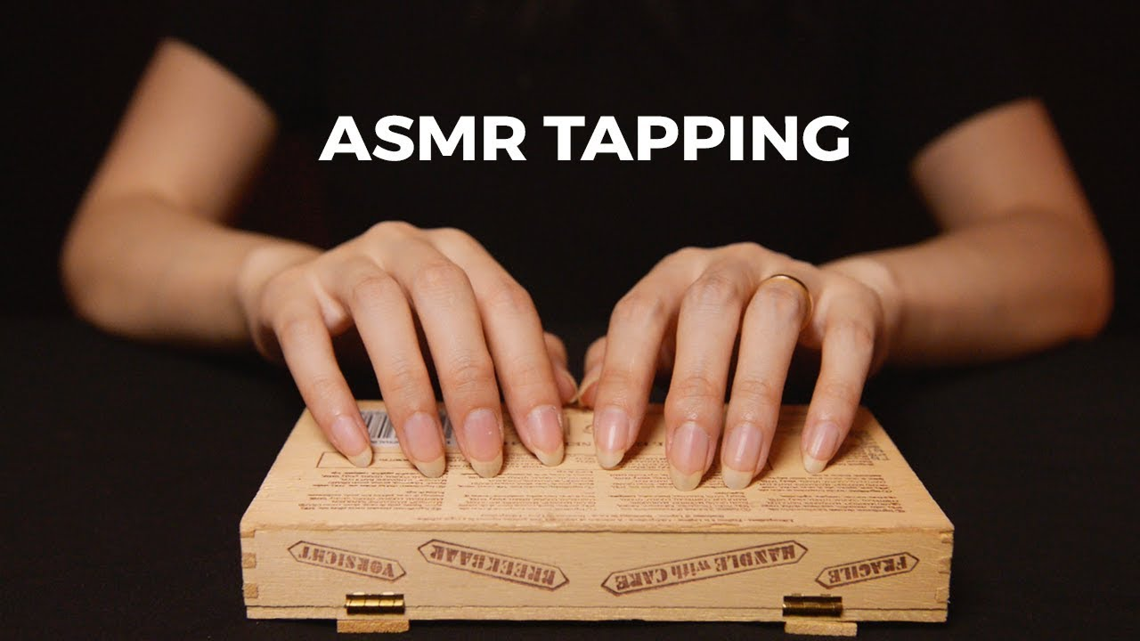 Asmr No Talking asmr addictive tapping 1 hr (no talking)
