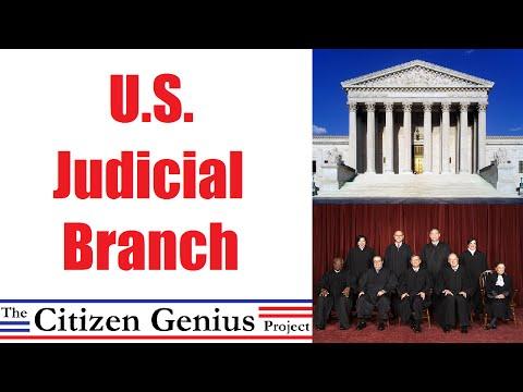 Judicial Branch of U.S. Government