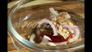 Рецепт закуски из помидоров и сардины