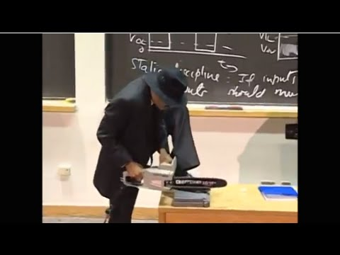 6.002x Circuits and Electronics | MIT on edX | Chainsaw Demo