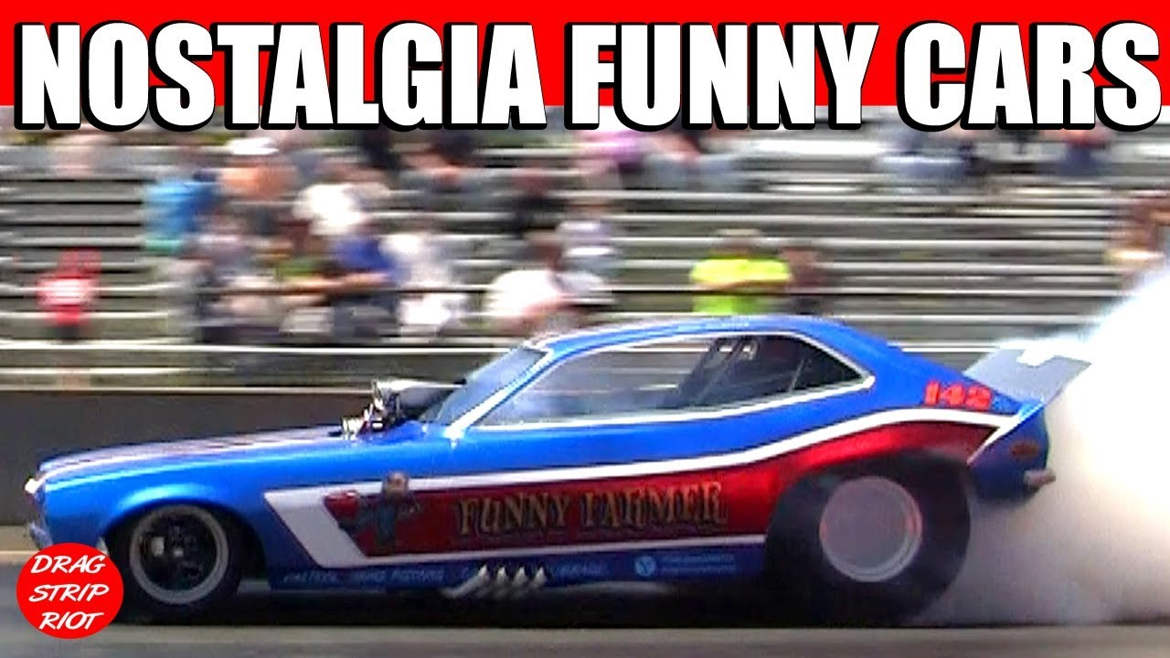 Classic Funny Car: 2013 Nostalgia Classic Great Lakes Funny Cars Drag Racing