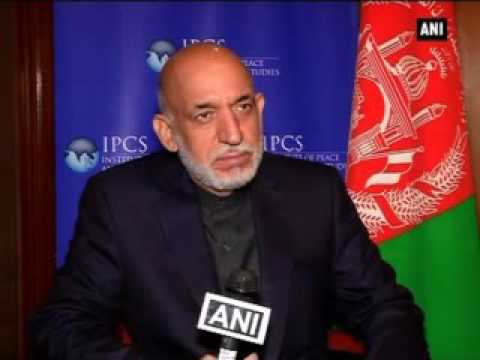 No doubt on Pakistan's role in supporting ISIS: Hamid Karzai
