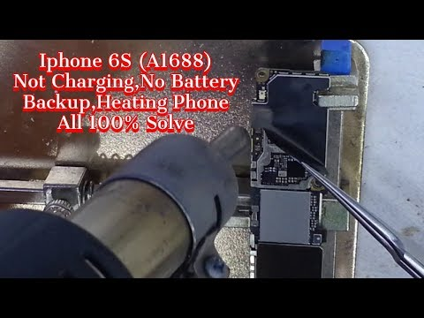 Iphone 6S (A1688) No Battery Backup 100% Solution