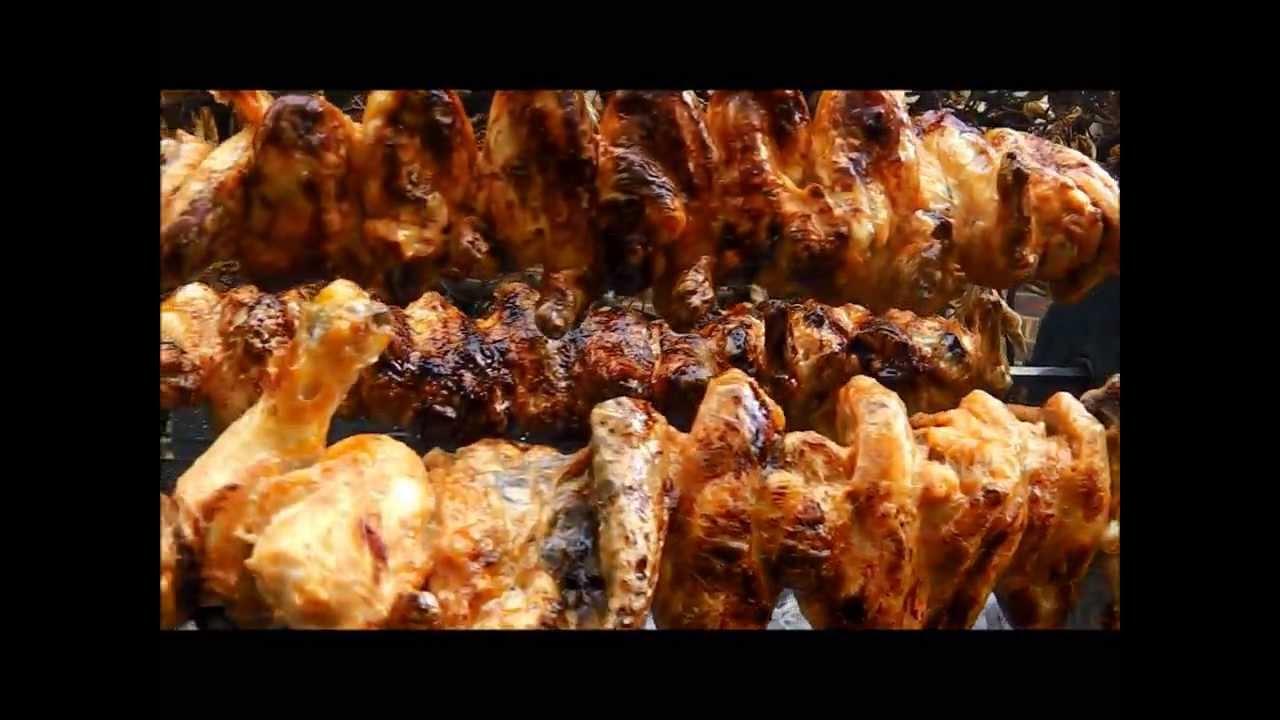Greek Cypriot Style Rotisserie BBQ Cyprus Souvla and