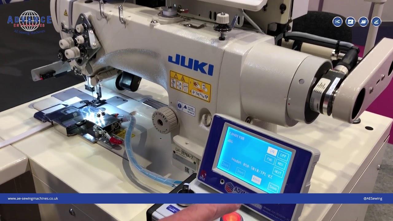 ASA-3010/TPL-KC Conveyor Sewing Machine for attaching Keder/SEG