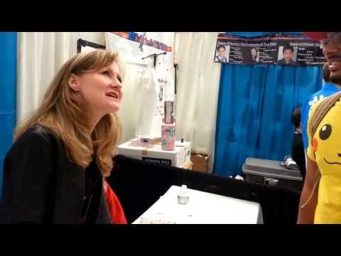 FanExpo 2013 Vancouver - Veronica Taylor (ORIGINAL VOICE OF ASH FROM POKEMON)