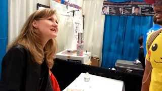 FanExpo 2013 Vancouver - Veronica Taylor (ORIGINAL VOICE OF ASH FROM POKEMON)