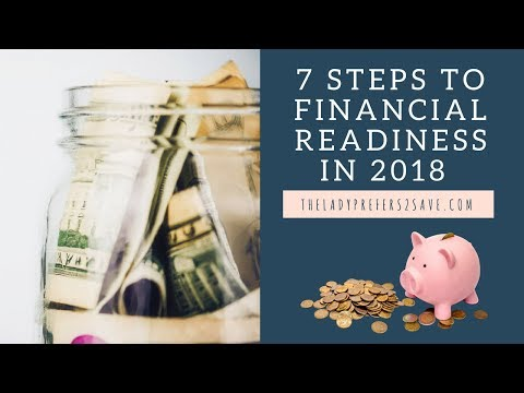 7 Steps to Financial Readiness in 2018