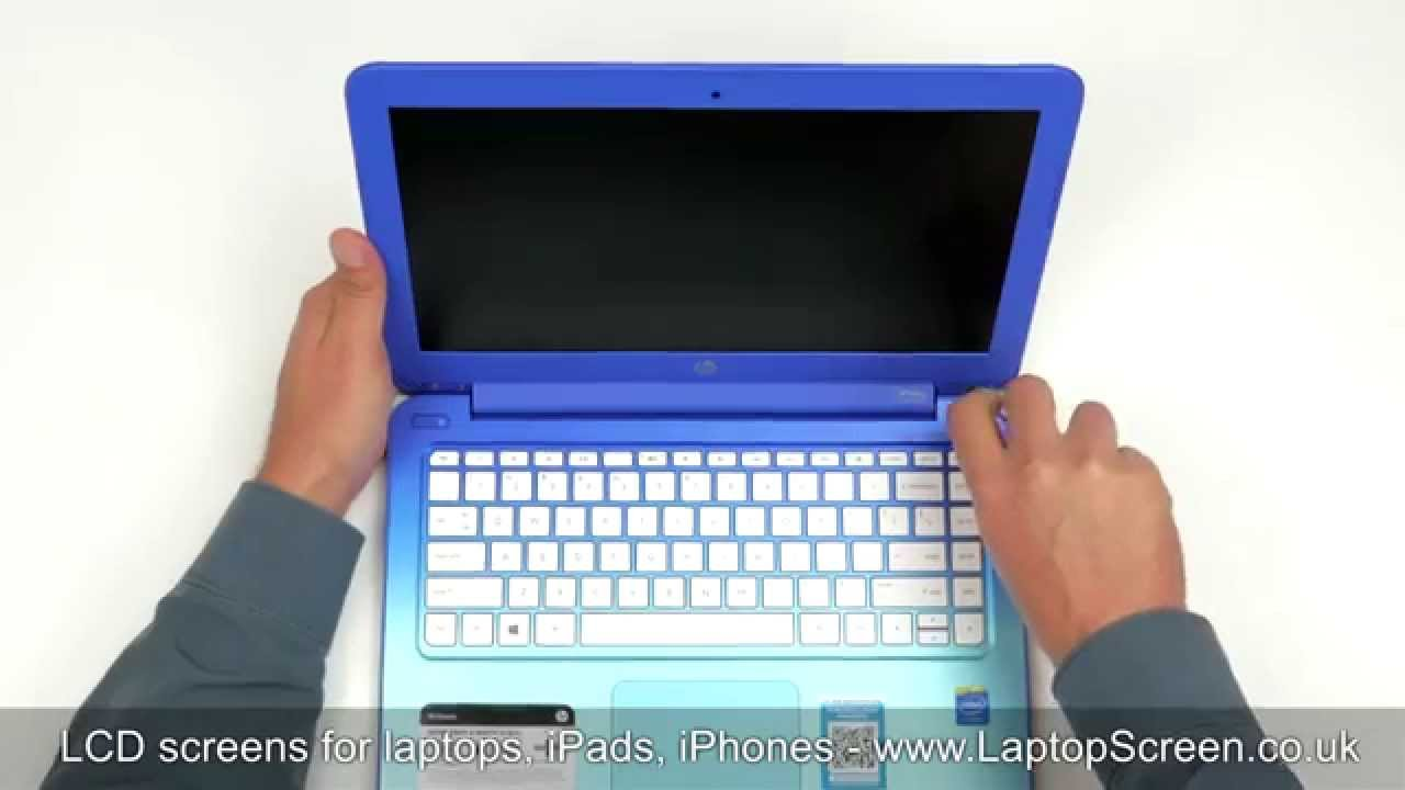 How To Replace Laptop Screen Fixing Lcd Hp Stream 13 Youtube