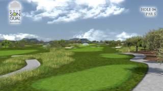 Hole 4 Golf Son Gual Mallorca
