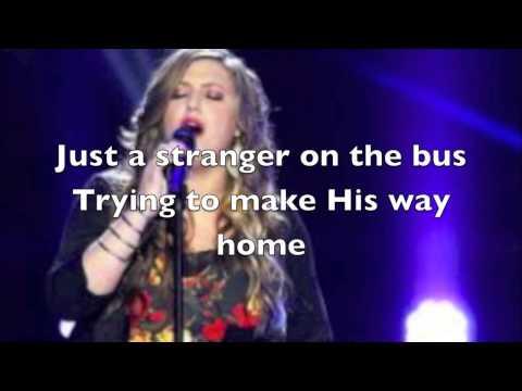 One Of Us-Sarah Simmons (The Voice) lyrics