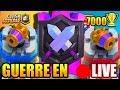 Clash Royale - ON PART EN GUERRE EN 🔴LIVE !! GO 7000 TROPHÉES