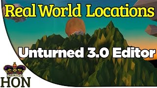 How To Create A Real World Location - Unturned 3.0 Map Editor - Height Map