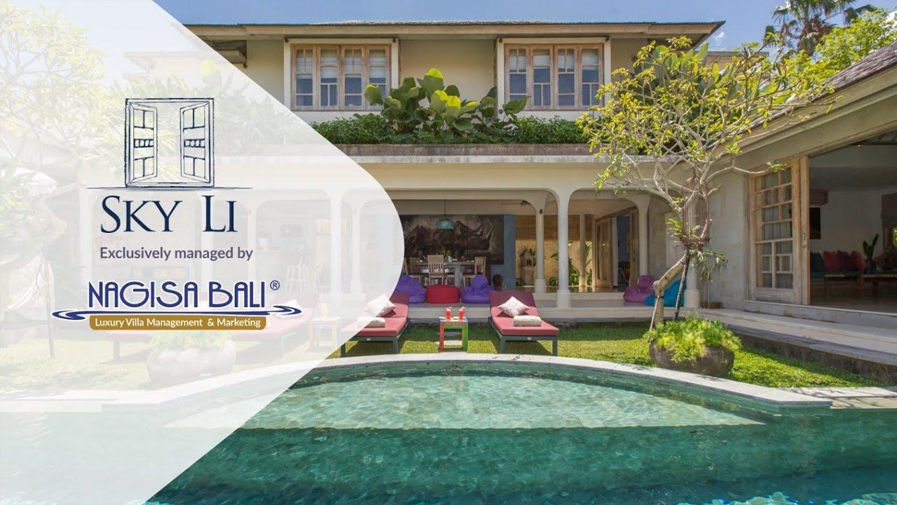 Seminyak Peaceful Private Villa Sky Li Managed By Nagisa Bali Youtube