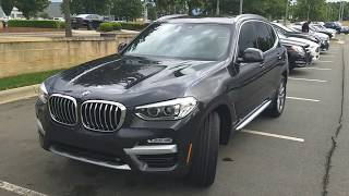 2019 BMW X3 sDrive 30i Review Dark Graphite X Line