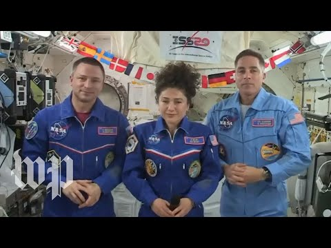 Astronauts on board the ISS offer advice on living in close quarters during coronavirus lockdowns