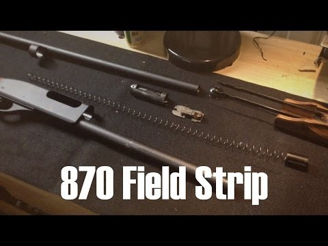 Remington 870 Express Magnum Disassembly