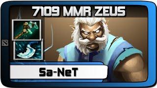 Sa-NeT Pro Zeus 7k MMR 28-5-16 Gameplay | Dota 2