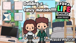 Decorating The New Modern Mansion Modern Mansion Is Out Toca Shine Youtube