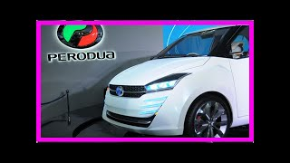 Perodua to display concept car at KLIMS - new SUV? | k production channel