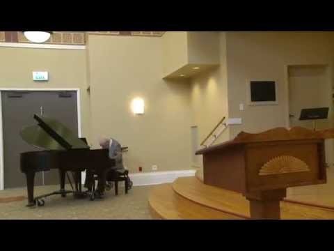 """FRANK PERRY: Polonaise in A major, op. 40 no. 1, """"Military"""" (Chopin)"""