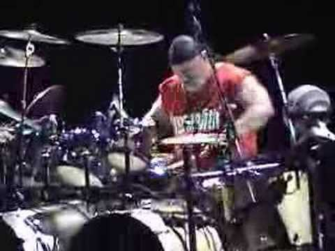 April Wine - Jerry Mercer Drum Solo - [cam] LIVE