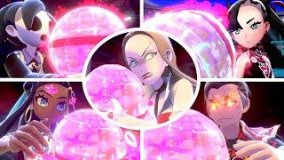 Pokémon Sword & Shield - All Characters Dynamax Animations
