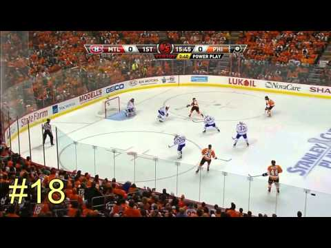 Danny Briere ALL 30 points NHL Playoffs 2010