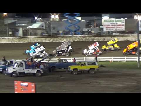 Skagit Speedway, 2018 Dirt Cup, Night 2, ASCS National Series B-Main 1, 2 and 3