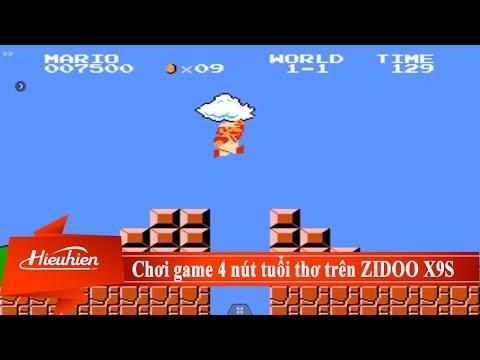 [Hieuhien.vn] Trải nghiệm game tuổi thơ 4 nút trên ZIDOO X9S