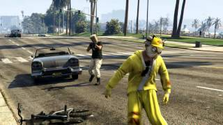 GTAV Movie: Bicycle love (part 2)