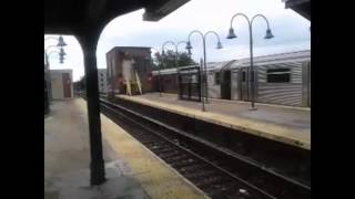 (100th video) Skip-stop (r32, and r160(J)(Z)) and M trains terminating at Broadway junction