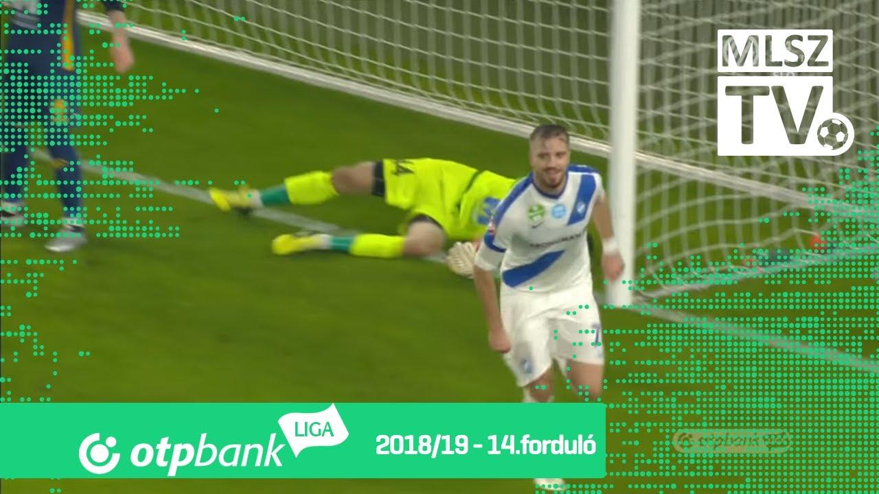 Baki Ákos gólja az MTK Budapest - Puskás Akadémia FC mérkőzésen