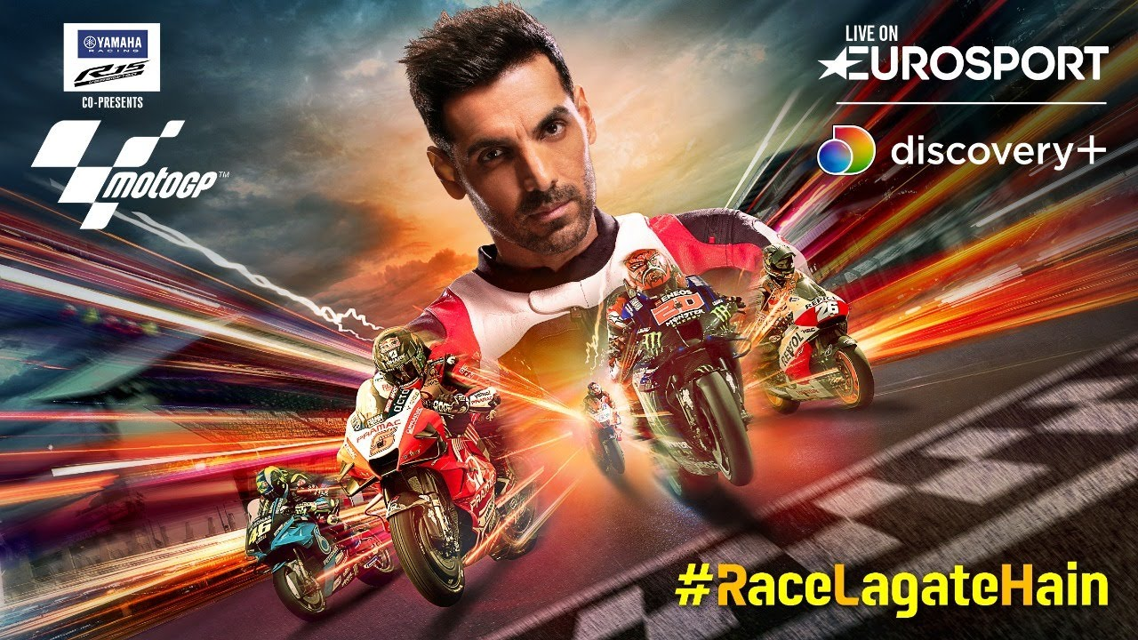 Get Ready For Moto GP Live On discovery+ | #RaceLagateHain | Promo
