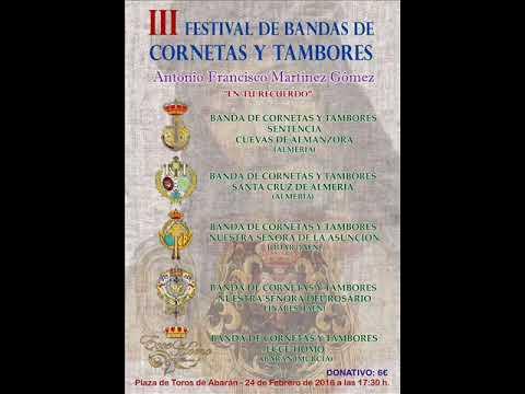 Invitación al III Festival de Bandas Antonio Fco  Gómez