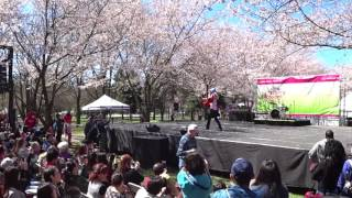 "tolalan danced ""Senbonzakura"" on the main stage of ""Subaru Cherry B..."