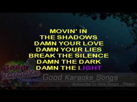 The Chain =  Fleetwood Mac (Lyrics Karaoke) [ goodkaraokesongs.com ]