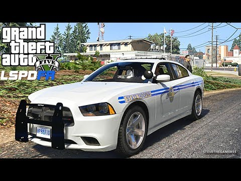 LSPDFR #560 -  SOUTH CAROLINA PATROL(GTA 5 REAL LIFE POLICE PC MOD)