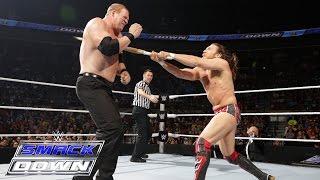 daniel bryan vs kane no disqualification match smackdown january 22 2015