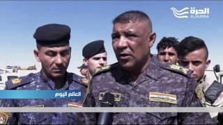 وزارة الدفاع العراقية تعلن انتهاء المرحلة الأولى من عمليات تحرير جزيرة الخالدية في الانبار