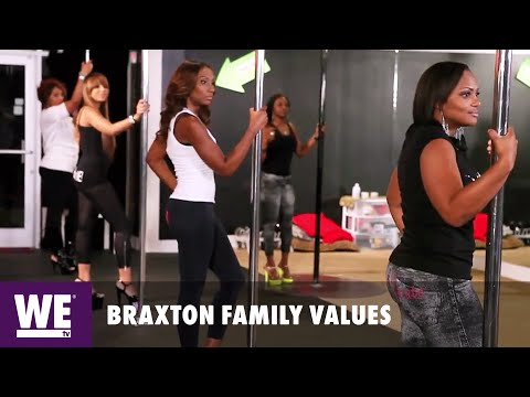 Braxton Family Values   The Braxtons Get Filthy in the Booty Clap Class   WE tv