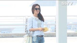 김희애, 꽃누나의 특급 미모 '공항패션, 놓치지 않을거예요~' Sstv